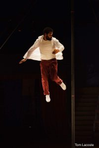 Stage mât chinois. Alejandro Soto envol. (DR)